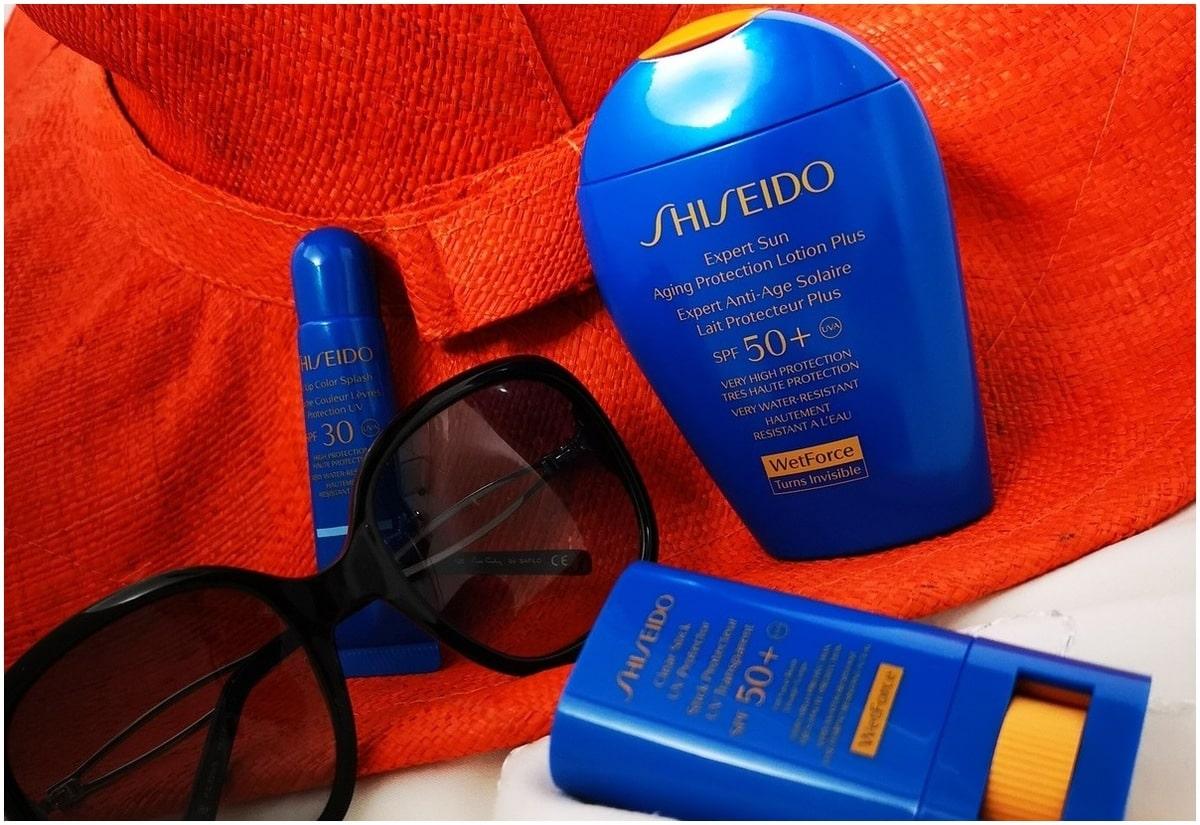 crème solaire Shiseido
