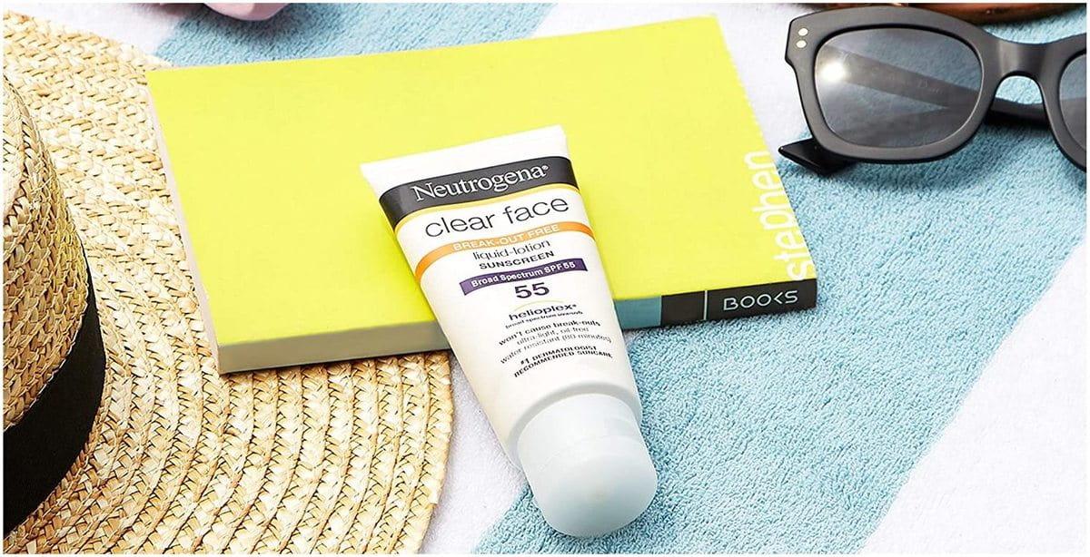crème solaire Neutrogena